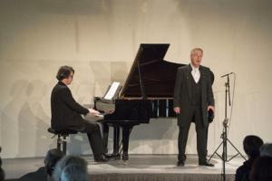 Christoph Prégardien et Daniel Heide au piano © DR.