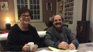 Marie Pellerin et Serge Abramovicz, membres de l'équipe des organisateurs du festival © Ouest-France.
