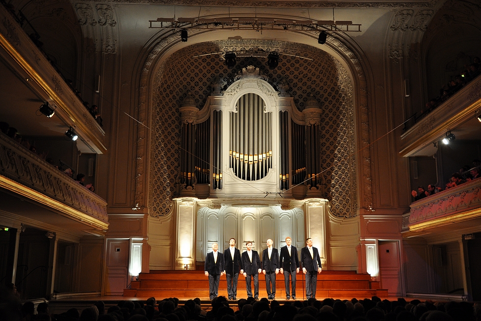 The King's Singers à Gaveau © DR.