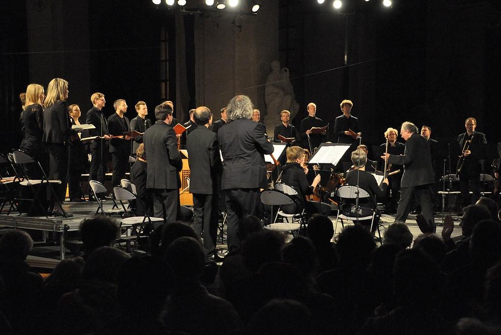 Philippe Herreweghe et Le Collegium Vocale © DR.