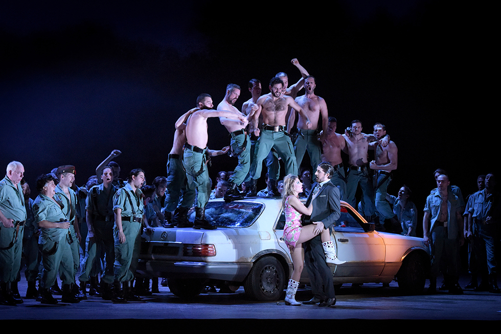 """Carmen"", répétitions © Vincent Pontet/Opera national de Paris."