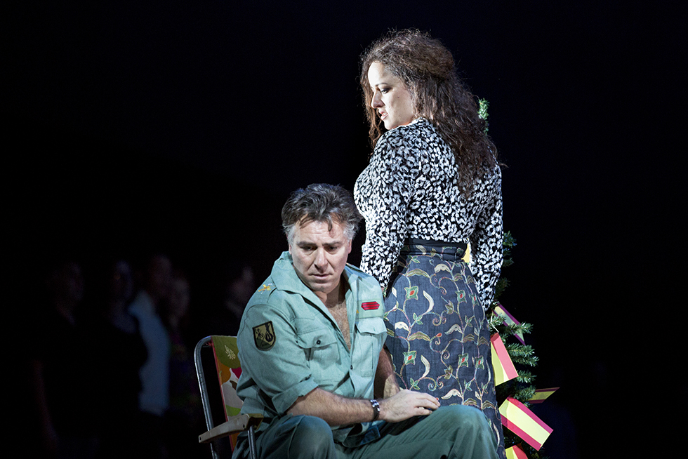 """Carmen"", répétitions © E. Bauer/Opera national de Paris."