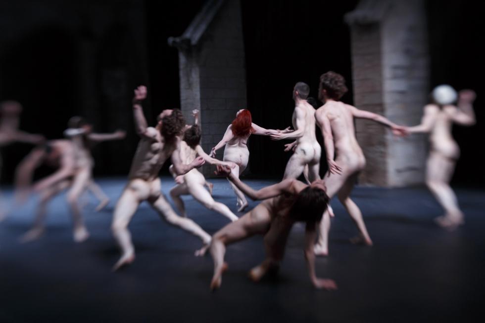 """""""Tragédie"""" d'Olivier Dubois © Christophe Raynaud de Lage."""