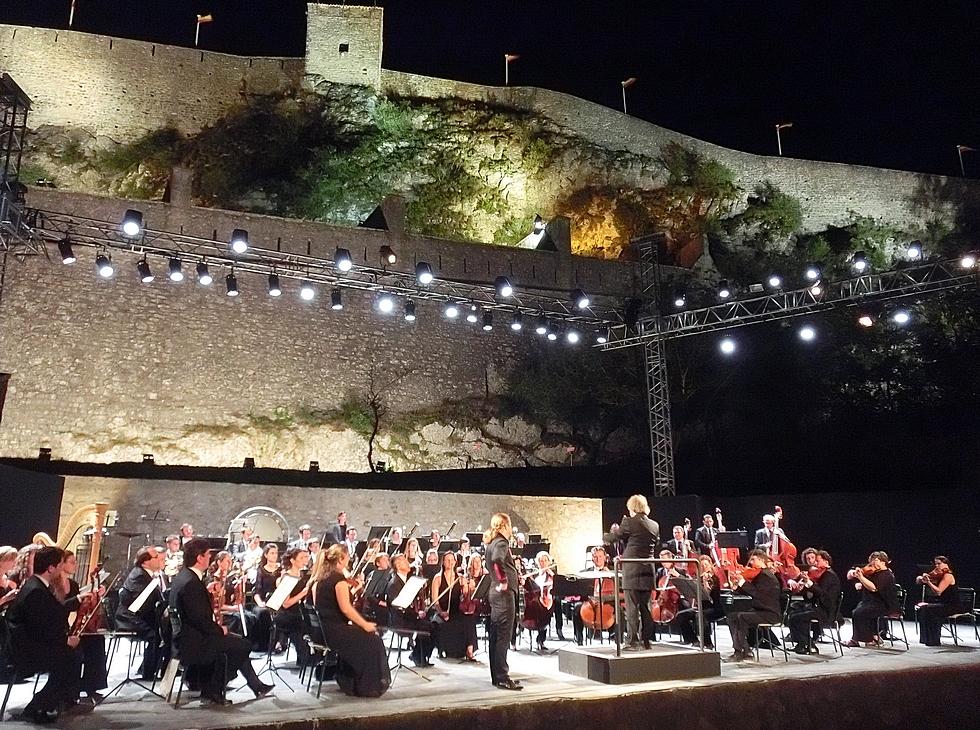 Orchestre Symphonique Budapest, Pavel Sporcl au violon © Nuits de la Citadelle.