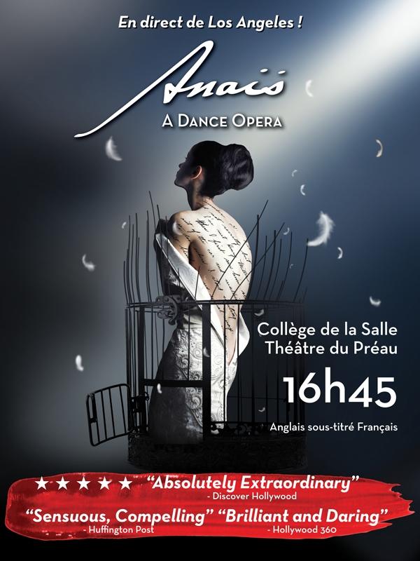 "● Avignon Off 2017 ● ""Anaïs, A Dance Opera"", par la Compagnie Mixed eMotion Theatrix"