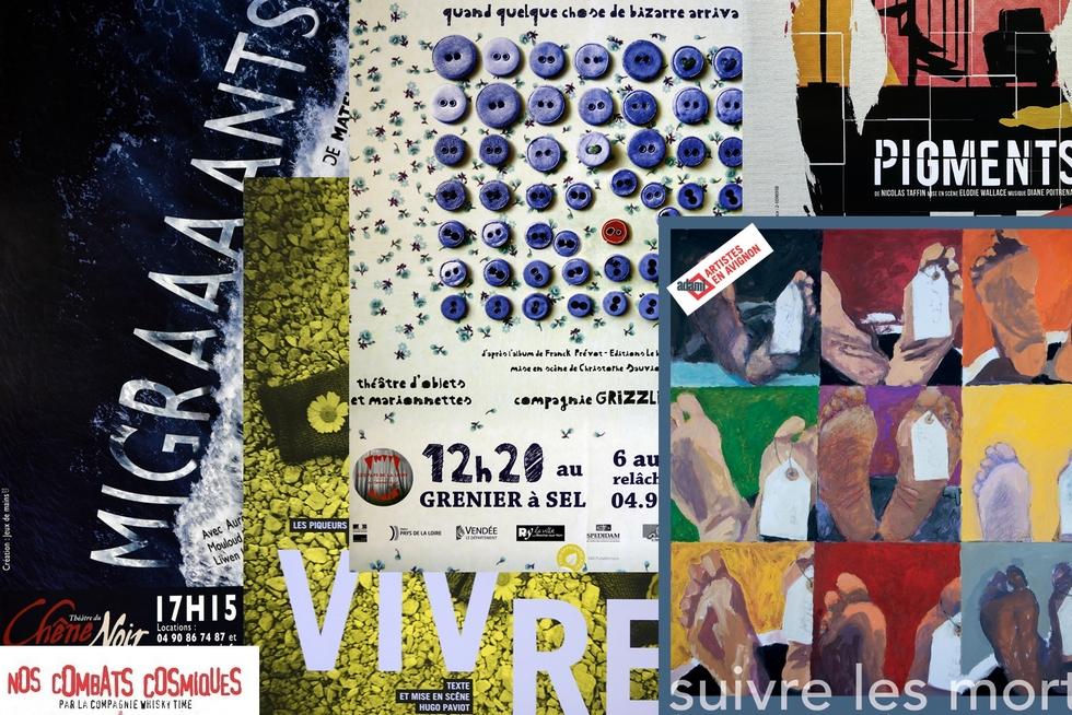 Les 25 plus belles affiches du festival OFF d'Avignon 2017