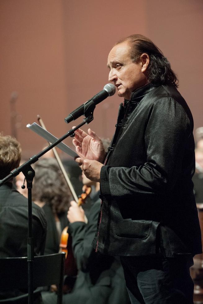 Daniel Mesguich pour le Concert Shakespearien © DR.