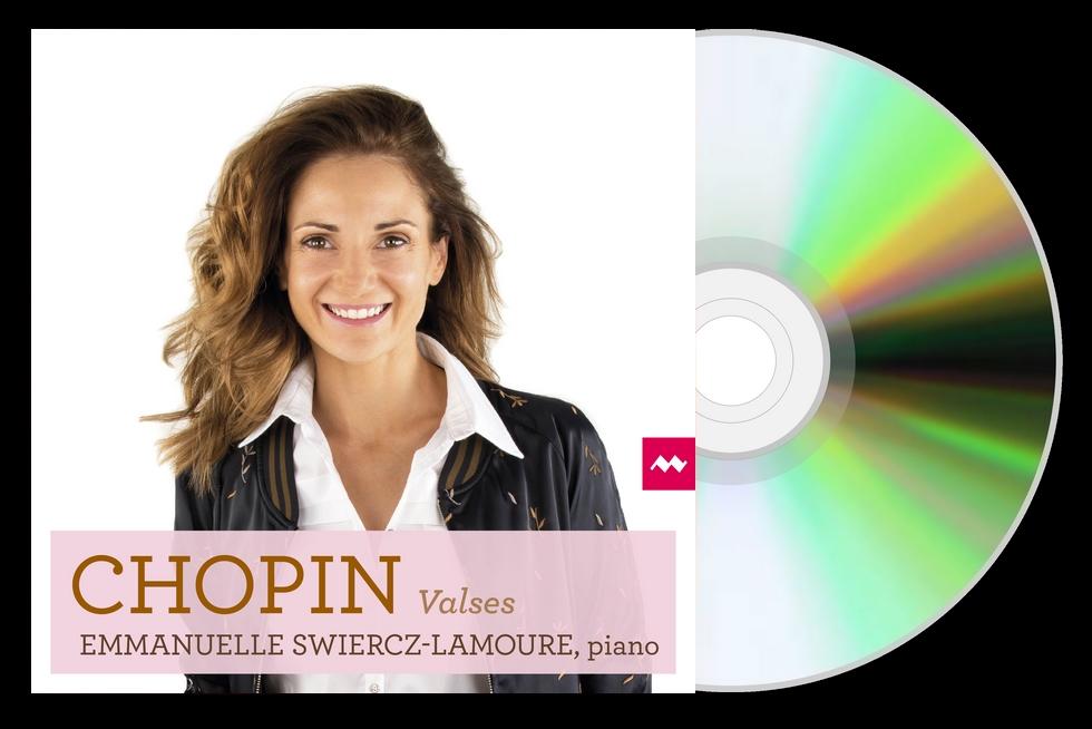 """Intégrale des """"Valses"""" de Frédéric Chopin par Emmanuelle Swiercz"""