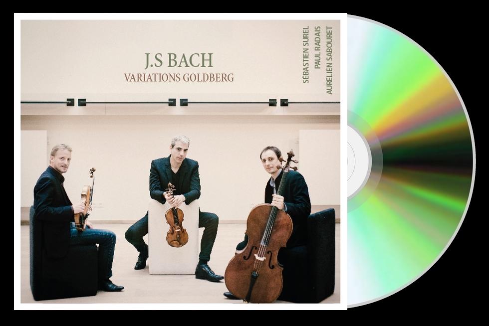 """Les """"Variations Goldberg"""" pour Trio à cordes, la Foi dans la Musique"""