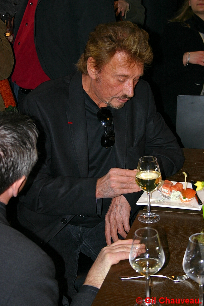 Johnny Halliday © Gil Chauveau 2006.