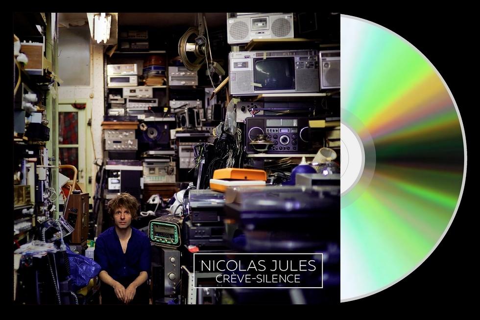 """Crève-silence"" de Nicolas Jules Grand Prix de l'Académie Charles Cros"