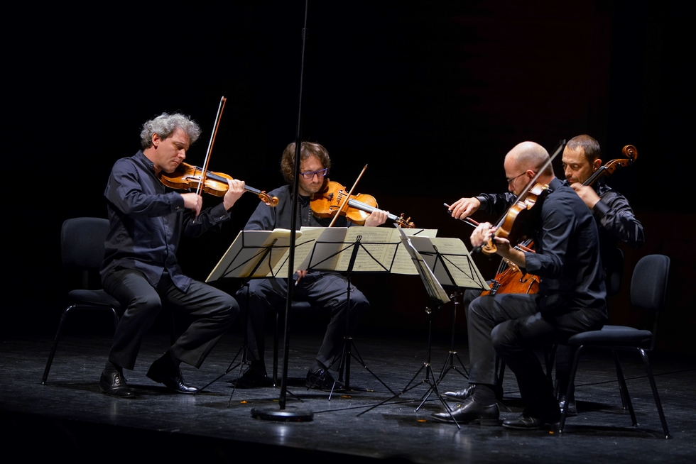 Quatuor Les Dissonances © Bernard Martinez.