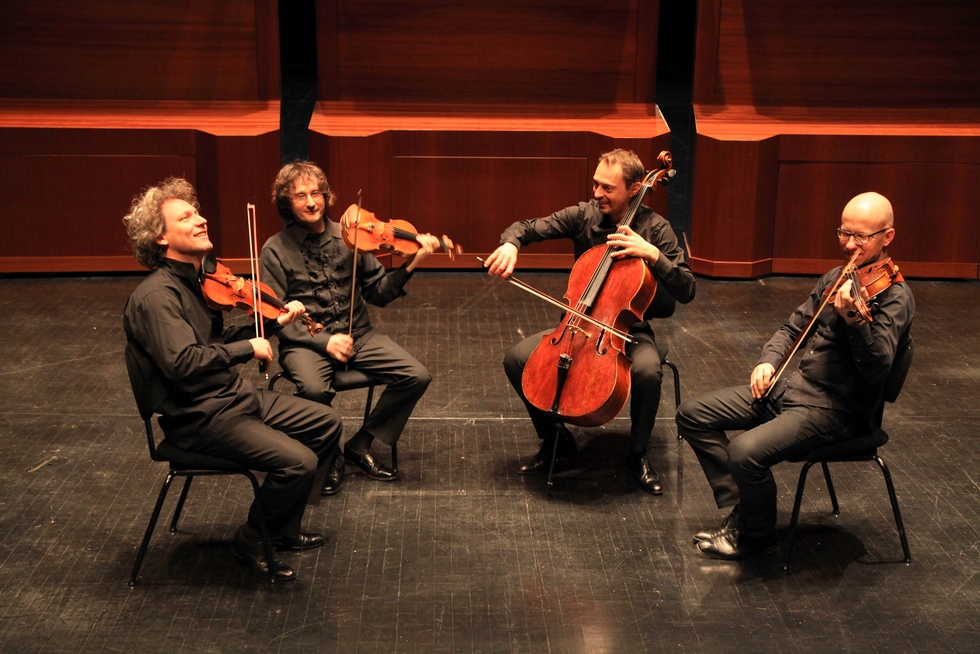 Quatuor Les Dissonances © Gilles Abegg.