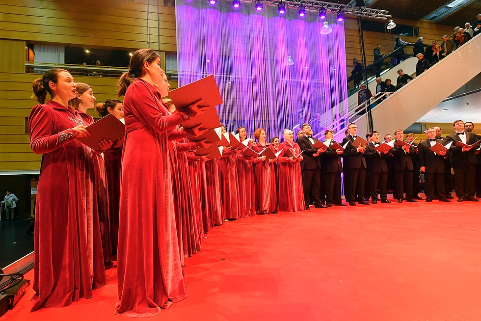 Chœur Philharmonique de l'Oural Ekaterinbourg © DR.