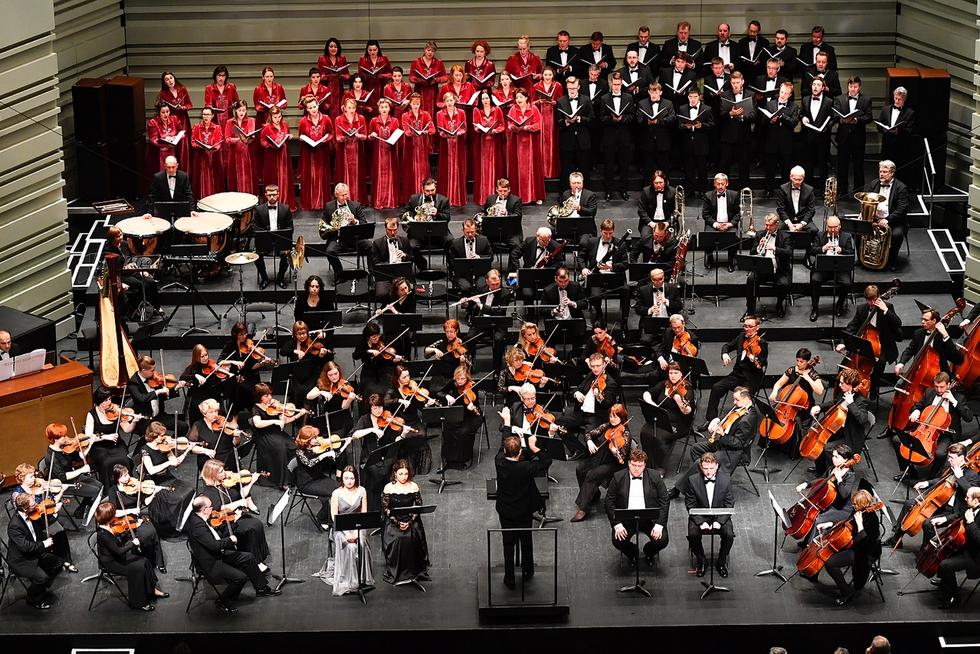Orchestre et Chœur Philharmonique de l'Oural © DR.