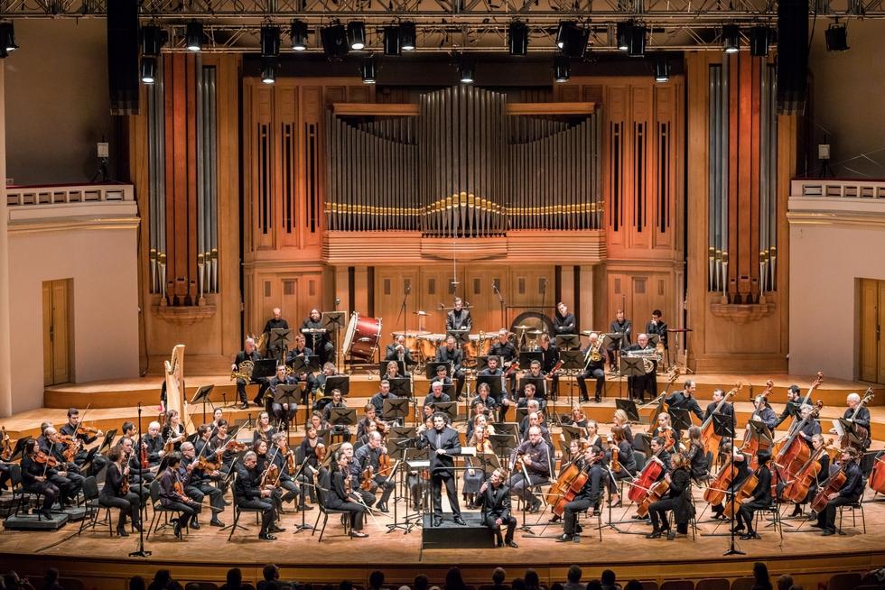 Orchestre de La Monnaie © Hugo Segers.