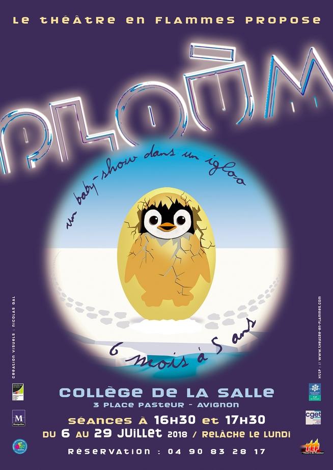 """● Avignon Off 2018 ● """"Ploùm"""" par le Théâtre en Flammes"""