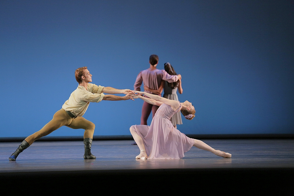"""Dances At A Gathering"" par le New York City Ballet © Paul Kolnik."