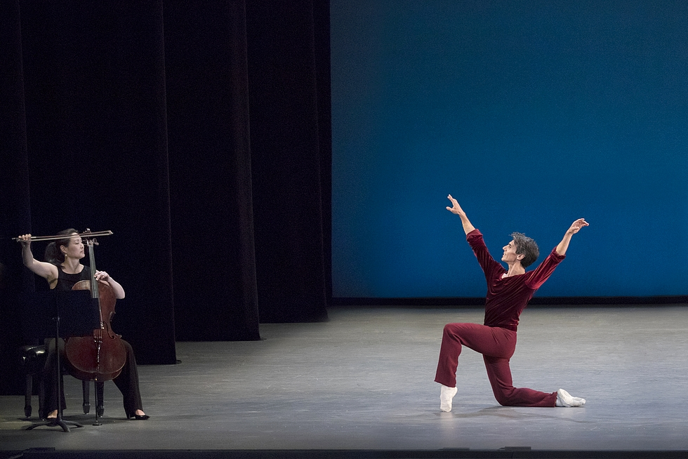 """Suite of Dances"" par le New York City Ballet © Luz Crop."