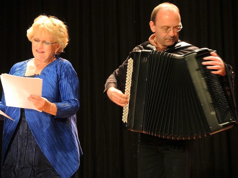 Marie-Christine Barrault et Pascal Contet © DR.