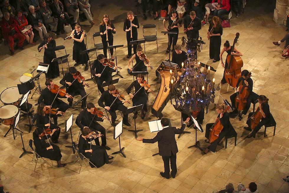 Orchestre Les Surprises © Ludo Leleu.