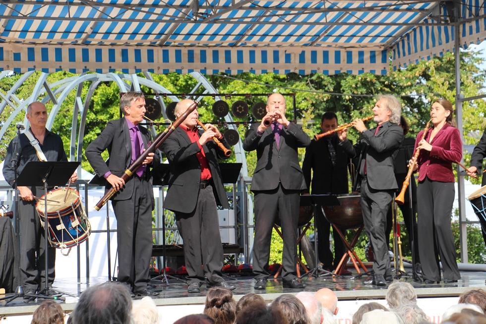 Plaisir du roi, Simphonie du Marais © Festival de Sablé.