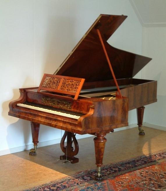 Piano Johann Baptist Streicher © DR.