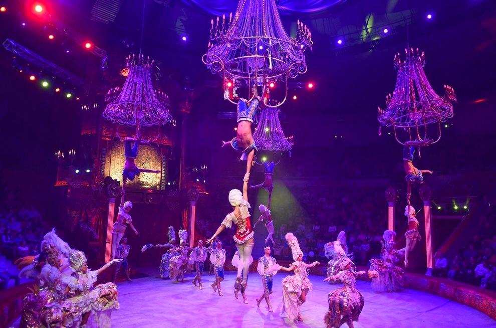 Le Royal Circus de Russie, dirigé par Gia Eradze © DR.