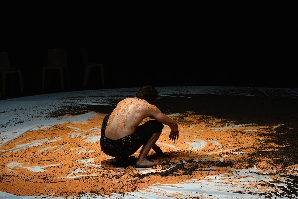 """Fractales"" par la Cie Libertivore © Philippe Lebruman 2018."