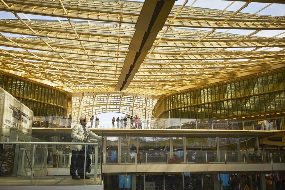 Sous la Canopée des Halles © Christophe Raynaud de Lage.