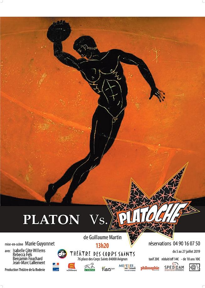● Avignon Off 2019 ● Platon Vs Platoche par le Théâtre de la Boderie