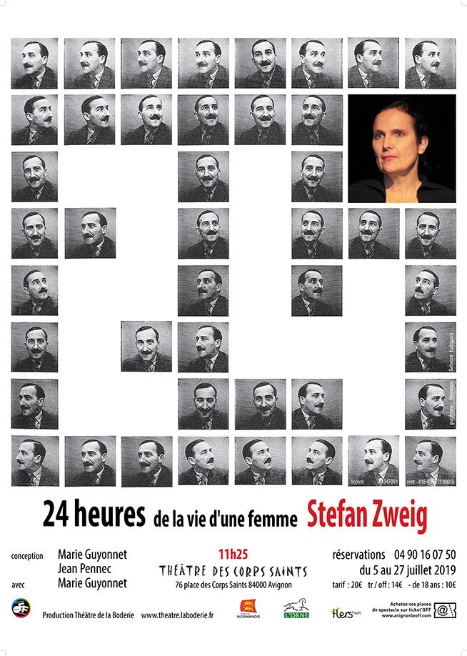 ● Avignon Off 2019 ● 24 heures de la vie d'une femme par le Théâtre de la Boderie