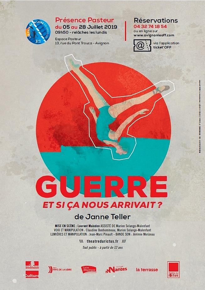 ● Avignon Off 2019 ● Guerre, et si ça nous arrivait ? par le Théâtre du Rictus