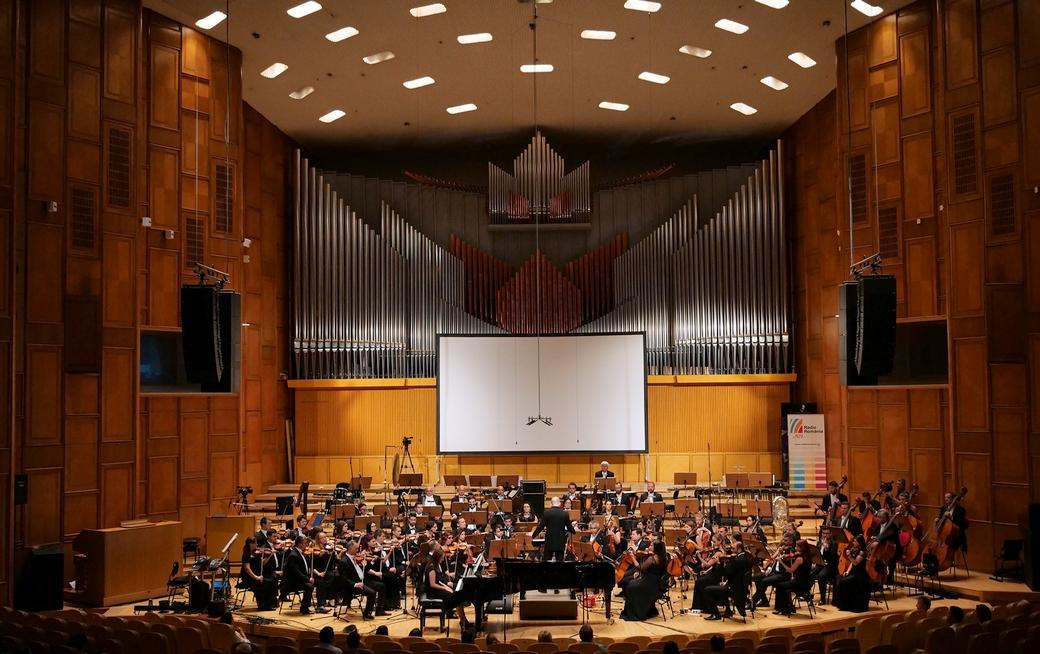 Sibiu Philharmonic Orchestra, Radio Hall © Andrada Pavel.