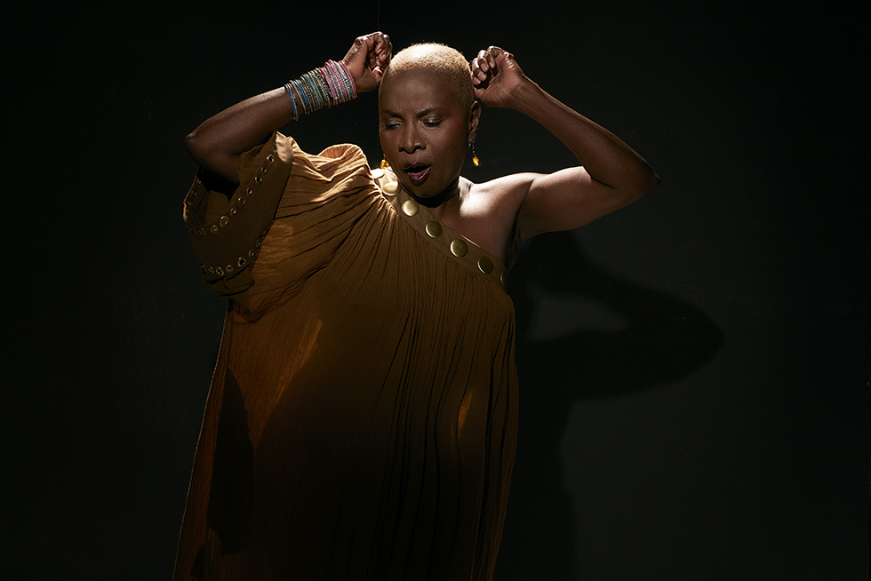 Angélique Kidjo © Laurent Seroussi.