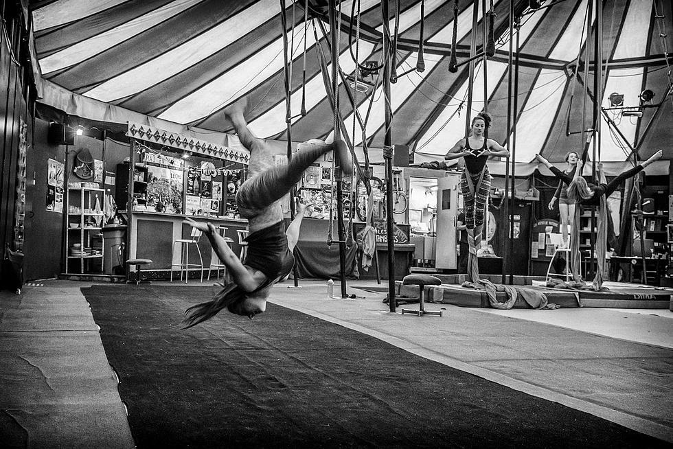 Sous le chapiteau du Cirque Les Noctambules © Les Noctambules.