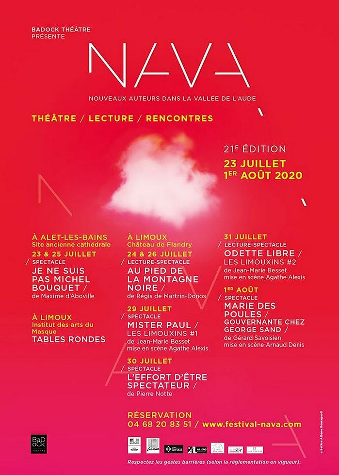 XXIe édition du festival NAVA… Nouveaux auteurs dans la vallée de l'Aude