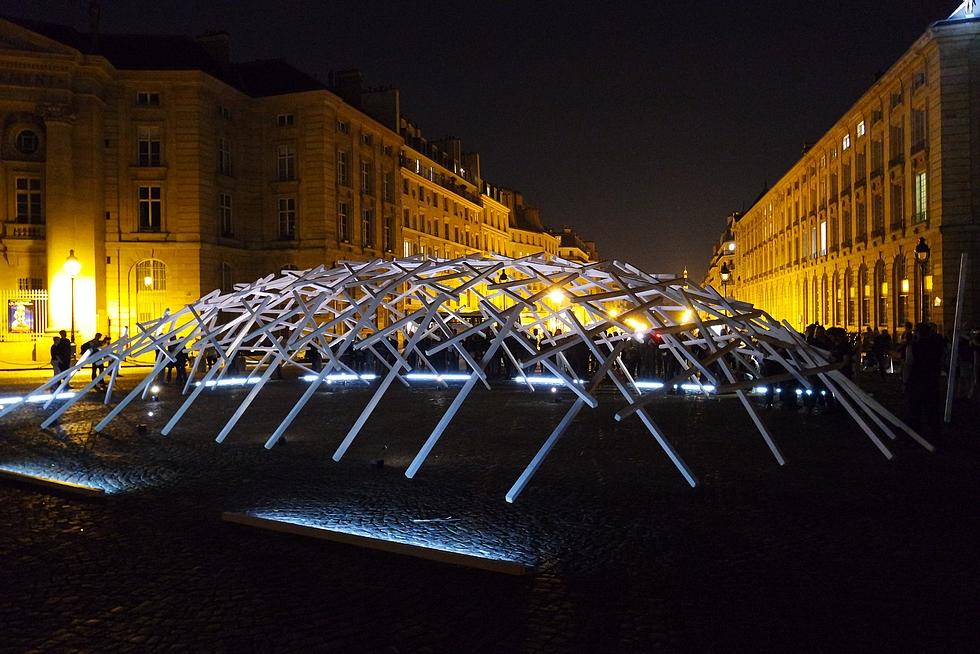 """""""La Transumante"""" de Johann Le Guillerm © United States of Paris blog."""