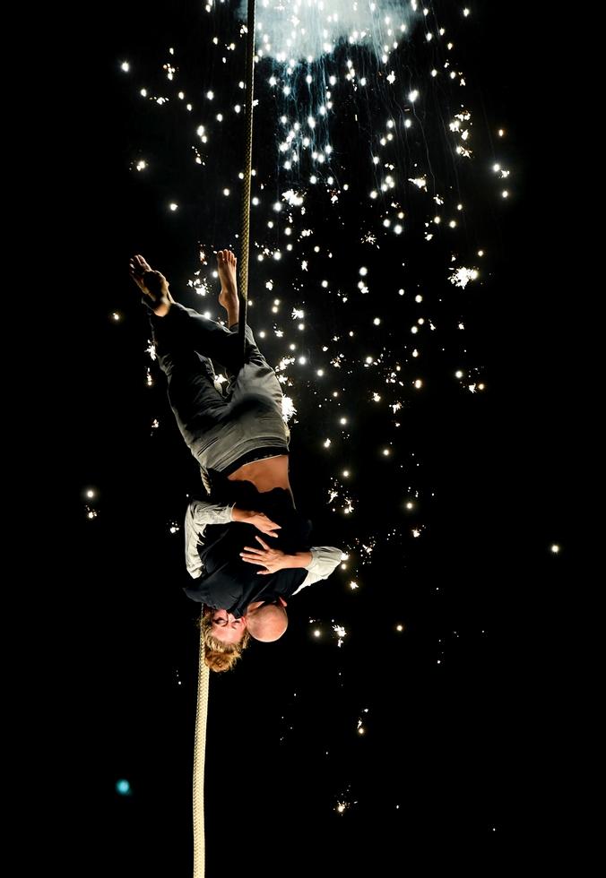 """Association du vide,""""Dans ton cirque"""" © Alain Julien."""