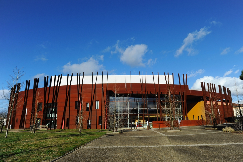 Le Théâtre de Gascogne regroupe trois lieux : le Pôle, le Molière et le Péglé. Ci-dessus : le Pôle © DR.