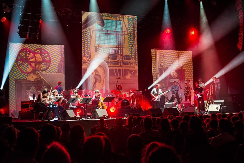 """Concert """"L'Odyssée"""", Fred Pallem et Le Sacre du Tympan © Sylvain Gripoix."""