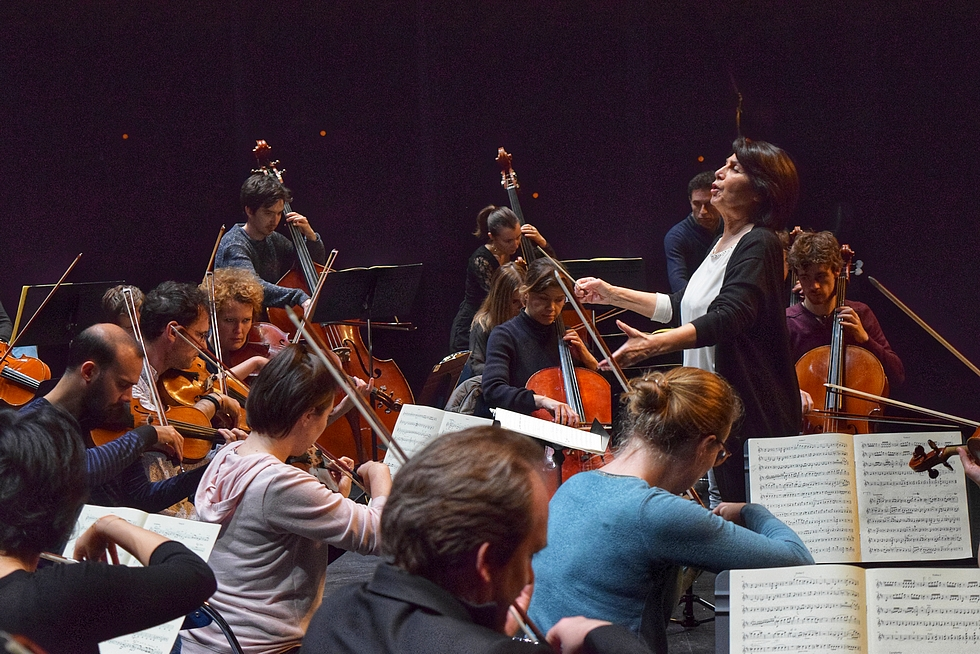 Paris Mozart Orchestra et Lucienne Renaudin Vary © Romain Fievet.