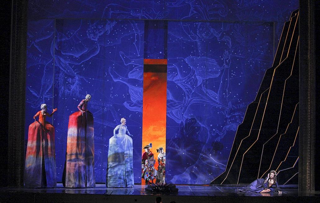 """Ariane à Naxos"" © Cory Weaver/The Metropolitan Opera."