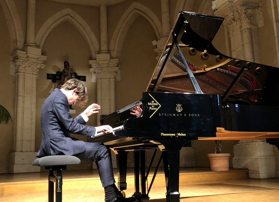 Alexandre Kantorow © Lisztomanias de Châteauroux.