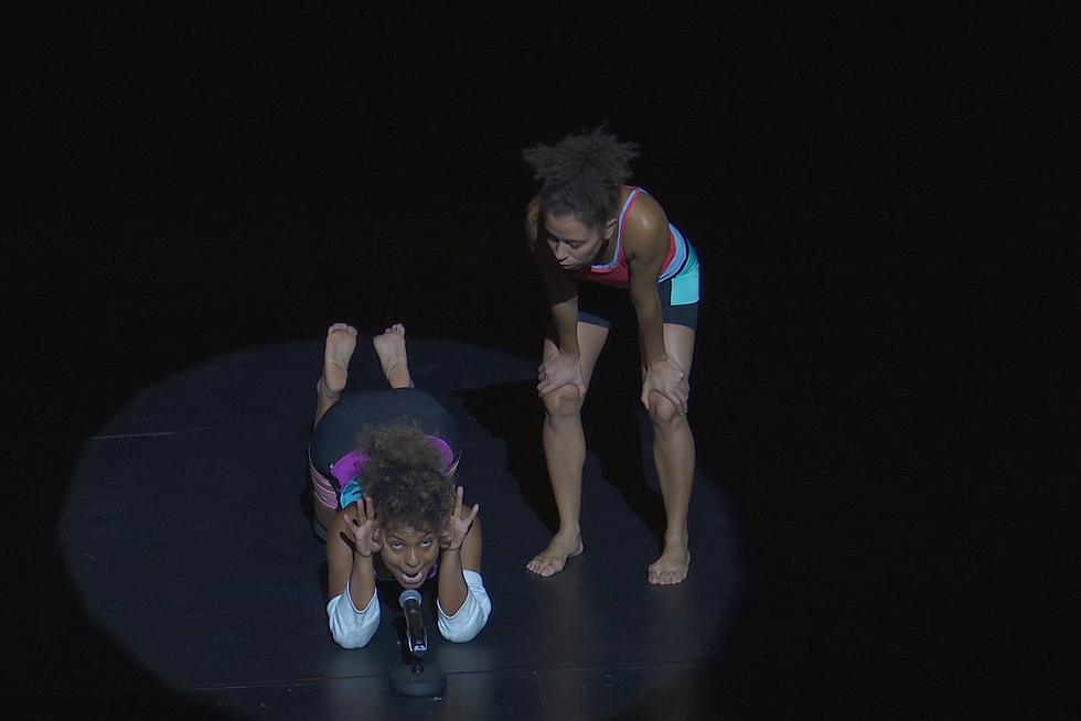 """""""Contre ceux qui ont le goût difficile"""" © Chaillot - Théâtre national de la Danse."""