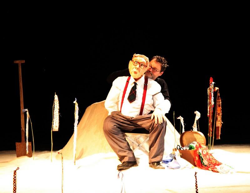 """""""Soleil couchant"""" par le Tof Théâtre (Belgique) © DR."""