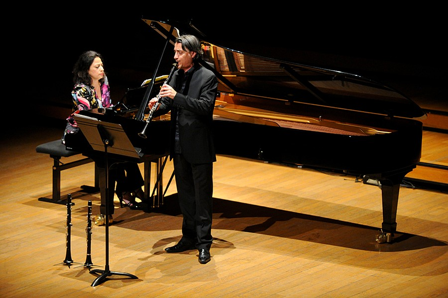 Marcella Roggeri et Florent Héau, samedi 18 juin 2014 © Axel Coeuret/Flâneries Musicales.