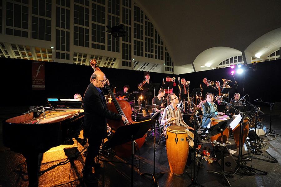 Le Caratini Jazz Ensemble, samedi 28 juin 2014 © Axel Coeuret/Flâneries Musicales.