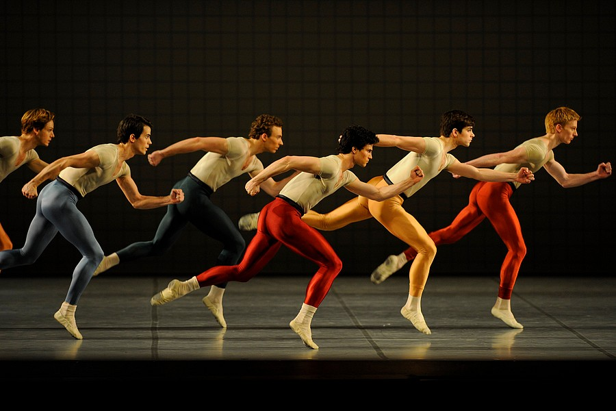 San Francisco Ballet - Glass Pieces © Erik Tomasson.