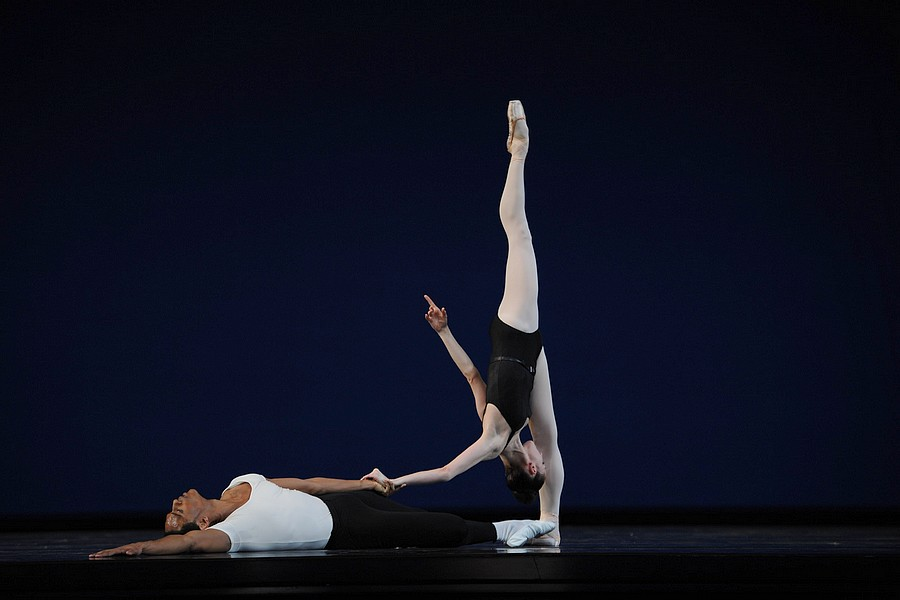 Sofiane Sylve et Anthony Spaulding - Agon © Erik Tomasson.